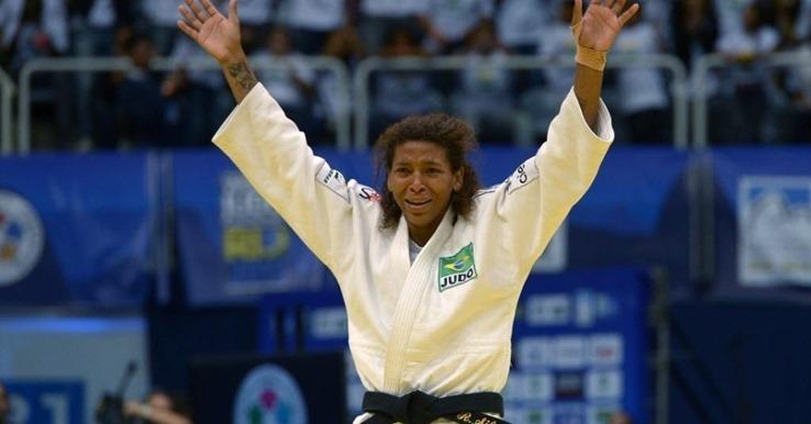 Rafaela Silva é ouro
