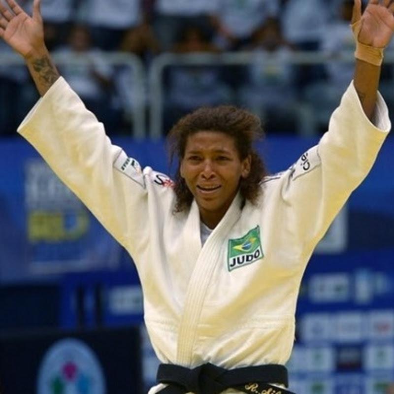 Parabéns Rafaela Silva
