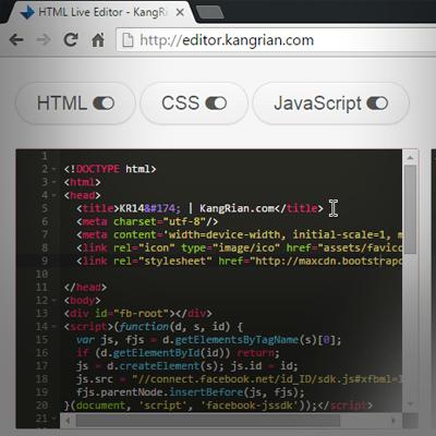 """Silahkan di coba! """"HTML Live Preview Editor Online"""""""