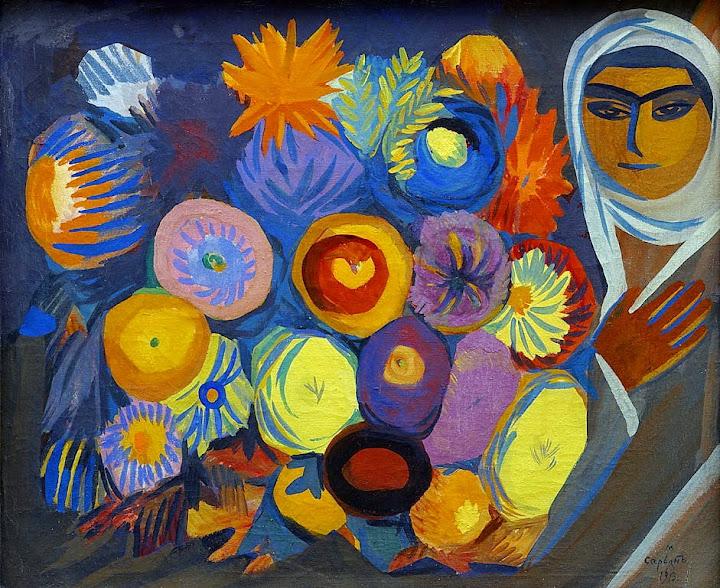 Martiros Saryan - Still life,1913