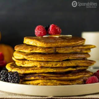 Spiced Pumpkin Pancake | Pumpkin Spice Syrup.
