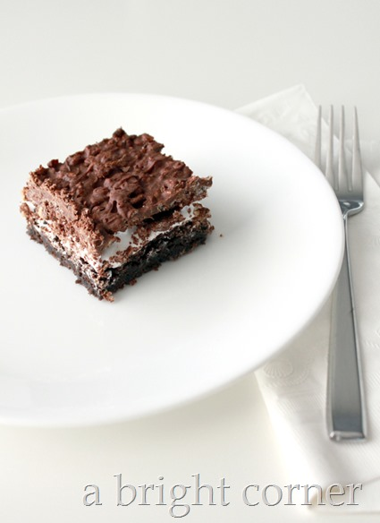 Lake House Brownie recipe
