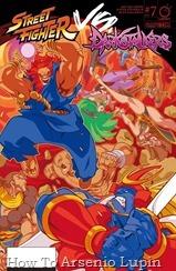 Actualización 11/03/2019: Se agrega los números 6, 7 y 8 de Street Fighter Vs. Darkstalkers por Shadow of the Bat, LorZeus, Toku Spidey y Azurik para las paginas de Facebook Elrincongamercom y Mazinger project. ¡El crossover espantosamente furioso del juego de lucha llega a su conclusión caótica! El plan maestro del demoníaco Jedah amenaza no solo a los Guerreros del Mundo y los Guerreros de la Noche, sino al universo mismo. ¡Es el capítulo final de STREET FIGHTER VS DARKSTALKERS! Muchisimas gracias a todos los involucrados en la tradumaqueta de este cómic, gracias por compartirlo con nosotros y mucho éxito en sus futuros proyectos.