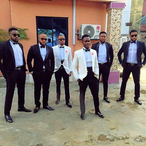 Diamond , Nosa Rex and others in Nollywood Movie 4Brothers