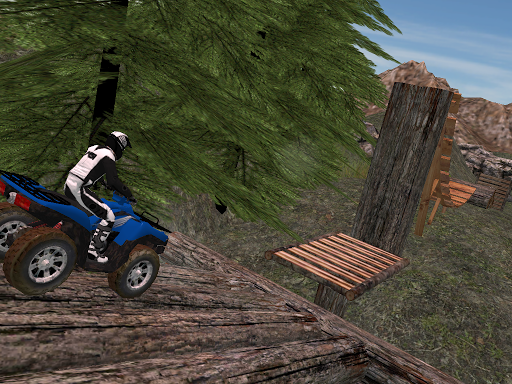 ATV Hill Climbing
