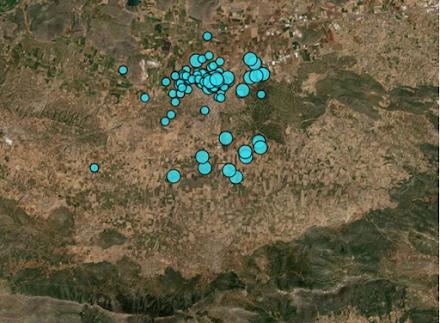 Μεγάλη ανησυχία προκαλούν στο Γεωδυναμικό Ινστιτούτο οι δεκάδες σεισμοί στη Θήβα