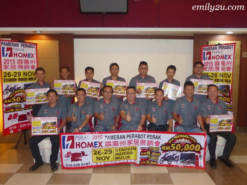 Announcement: Year-End Perak Homex