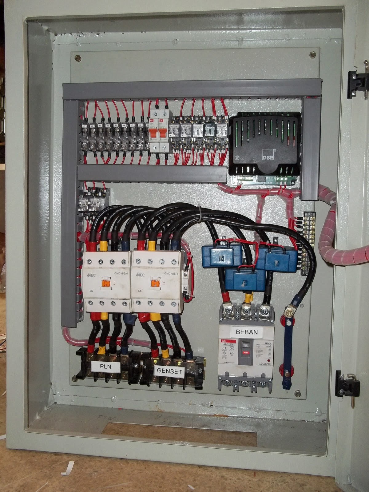 wiring diagram panel ats gallery