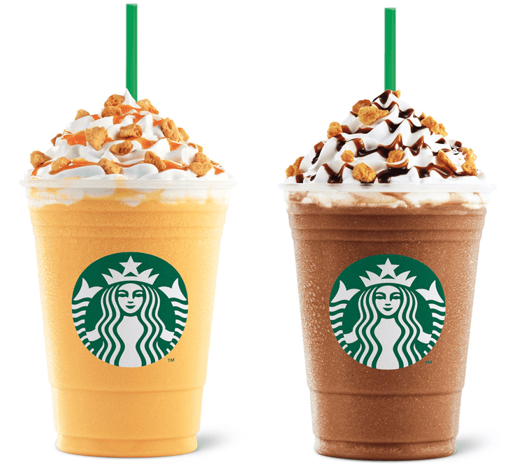 Starbucks Honeycomb Crunch Frappuccino