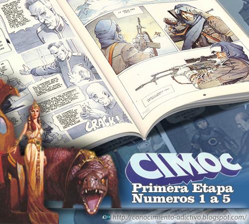 CIMOC · Primera Época - Números 1 al 5