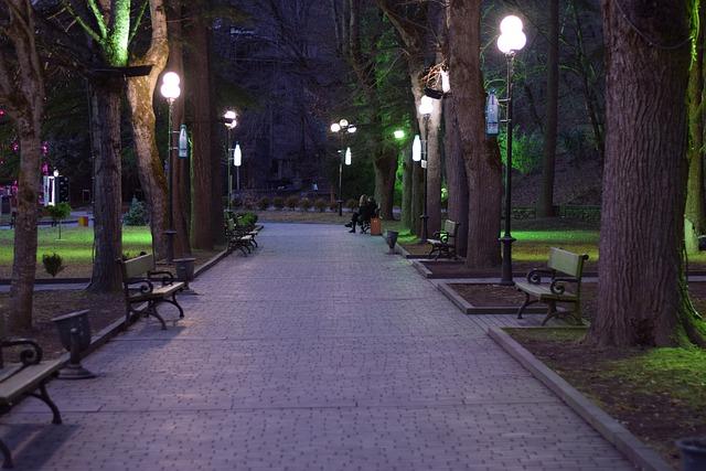 Borjomi at night