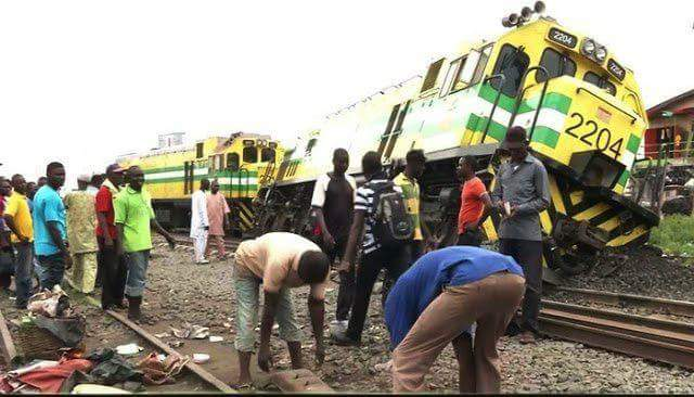 BREAKING : TRAIN MISHAP,  5 DIE IN A TRAIN ACCIDENT AT AGEGE