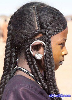 hausa hair style traditional fulani hair secrets in nigeria styles 2d 7205