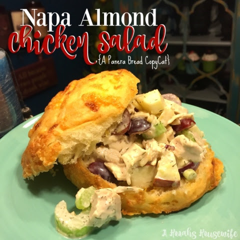 Napa Almond Chicken Salad (A Panera Bread Copy Cat)