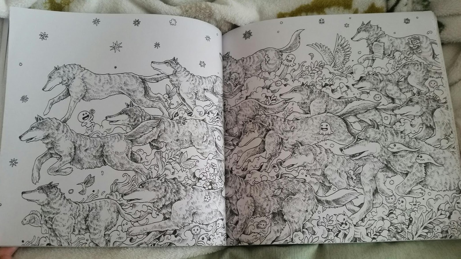 Animorphia an extreme coloring and search challenge by kerby rosanes - The Book I Have Which I Have Used For Artist Research Is Rosanes Animorphia An Extreme Colouring Book Search Challenge