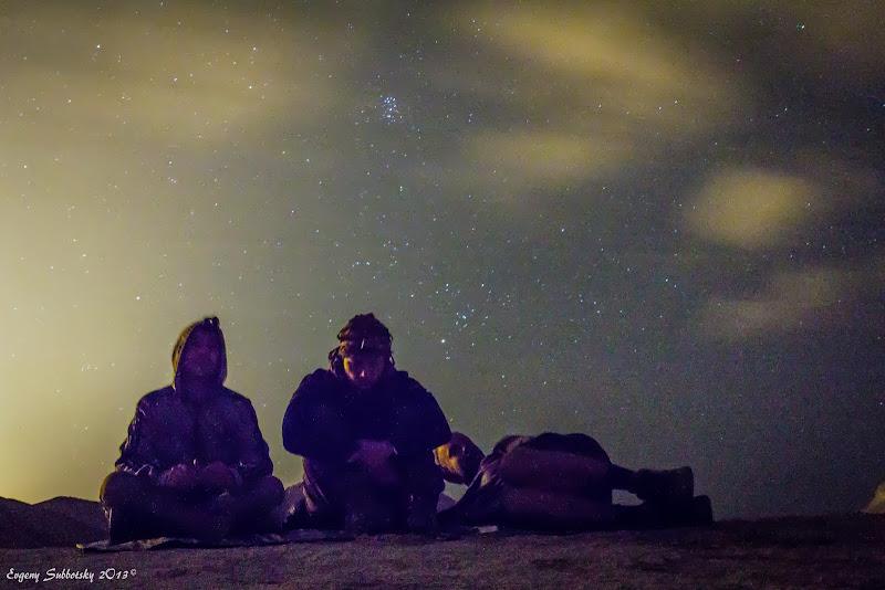 Лунной ночью по устью Хаварим и встреча солнца на выступе Рош Цин.