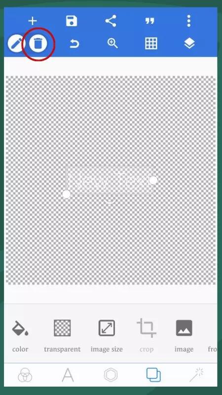 mengubah warna logo di android