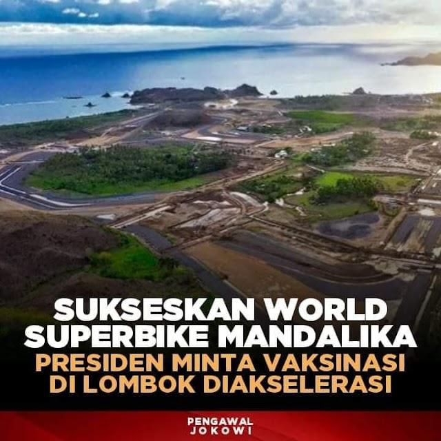 Sukseskan World Superbike Mandalika