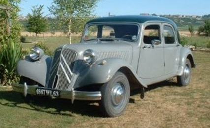 Citroën Traction 11 B 1953 gris perle