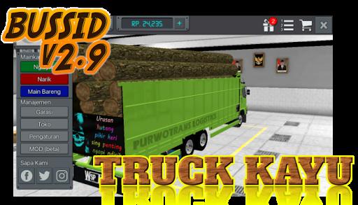 Livery Bussid Mod Truck Kayu 1.5 screenshots 3
