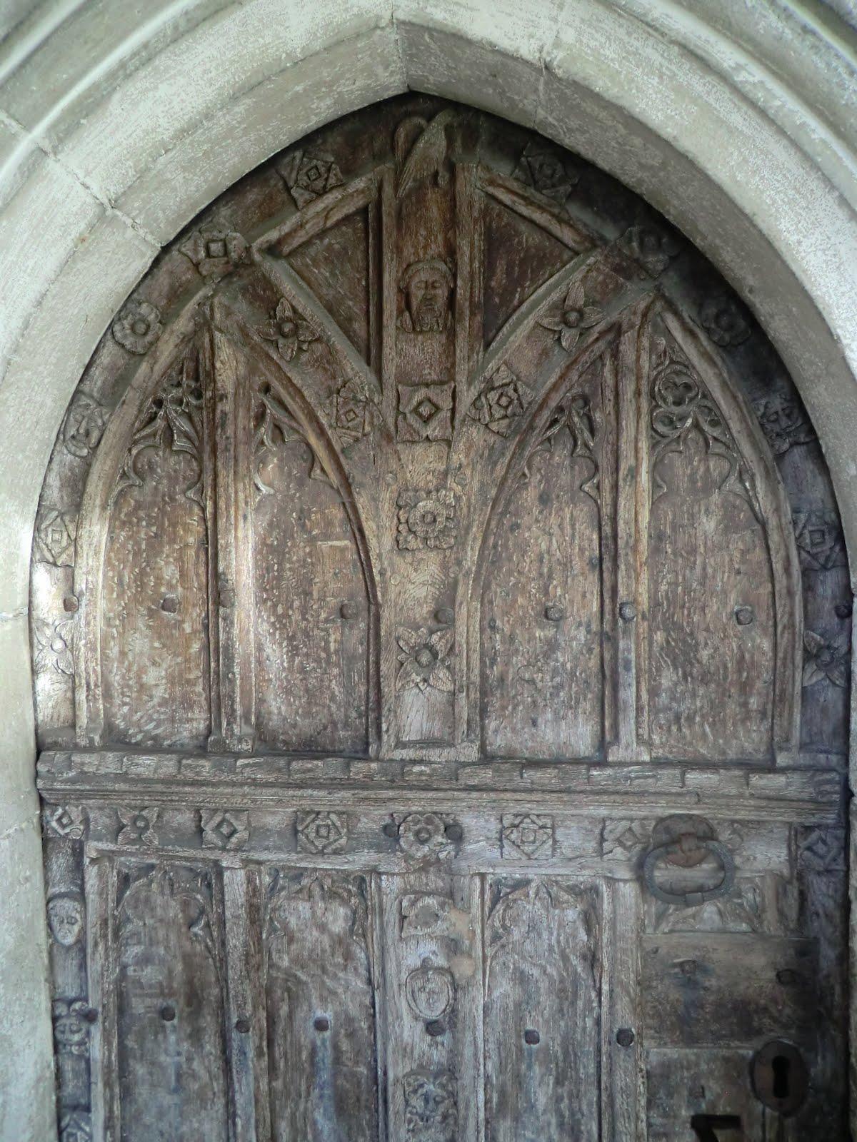 CIMG6648 Church door, St Mary's