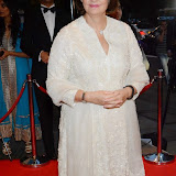 WWW.ENTSIMAGES.COM -  Cherie Blair  arriving at      The Asian Achievers Awards at Grosvenor House London September 19th 2014The Asian Achievers Awards celebrates individuals who are responsible for bringing the South Asian community to the centre stage. The chosen charity partner is the Cherie Blair Foundation.                                                 Photo Mobis Photos/OIC 0203 174 1069