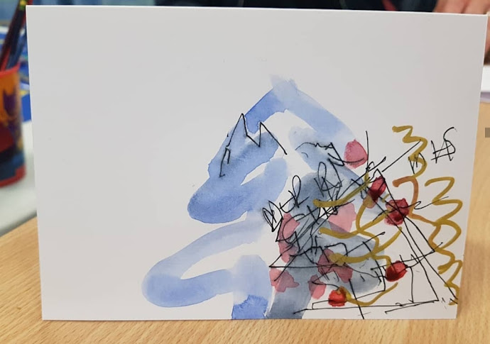 Stroke Unit, Arts in Hospitals, Arts in Wards, Rewarding, Karen Thompson, Workshops, Arts Workshop, karent.co.uk, karen T, Artists in Hospitals