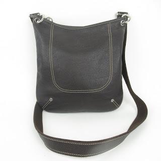 Longchamp Leather Crossbody Satchel
