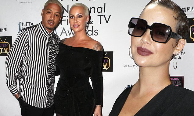"""'I've been suffering in silence' - Amber Rose accuses boyfriend Alexander """"AE"""" Edwards of cheating on her with 12 women"""