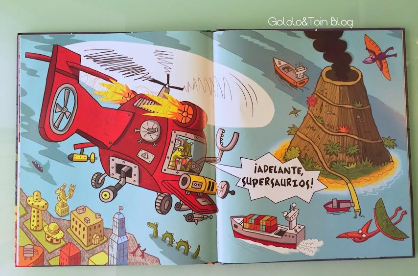 parragon-comic-niños-prelectores-terror-TRex