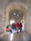 En el interior de la Ermita de Santa Quiteria y San Bonifacio