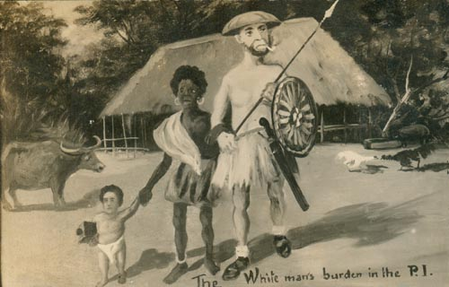 "white mans burden 53847 html Rudyard kipling's famous poem ""the white man's burden"" was published in  1899, during a high tide of british and american rhetoric about bringing the."