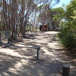 Gate before toilet Bournda Lagoon (105559)