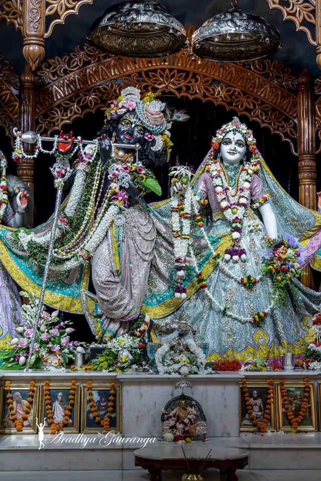 ISKCON Mayapur  Deity Darshan 22 July 2016 (2)