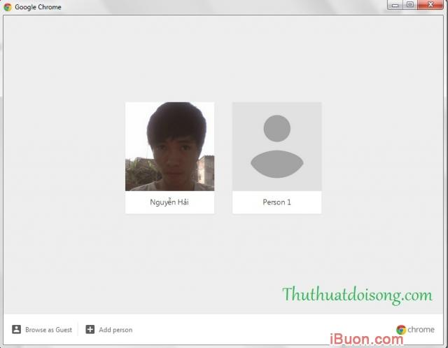 Ảnh mô phỏngHướng dẫn đổi người dùng Google Chrome - Account Switcher-2