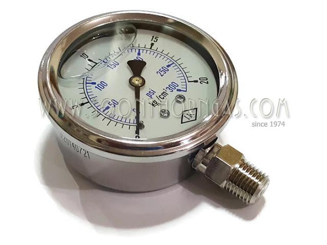 HIGH PRESSURE GAUGE IK 0-20 kg