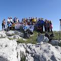 Zajednička fotografija sa prijateljima planinarima članovima HPD Bilogora, Bjelovar
