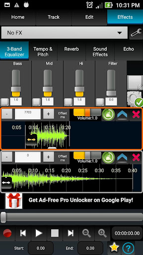 AudioDroid : Audio Mix Studio 2.8.3 screenshots 6