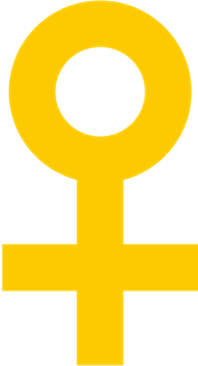 International symbol of the female gender