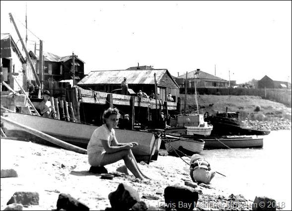 Daphne at Huski Wharf