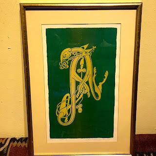 Steven Doyle 'Letter A' Signed Lithograph
