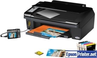 How to Reset Epson SX200 laser printer – Reset flashing lights error