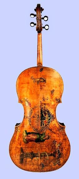 King é um dos raríssimos instrumentos Amati que sobreviveu à passagem do tempo
