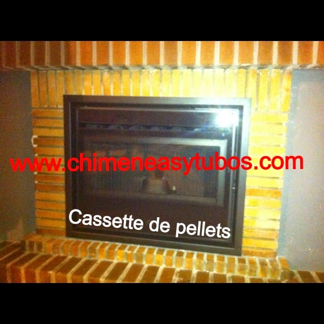 Chimeneas picos de europa cassette de pellets venta en - Venta de chimeneas en madrid ...