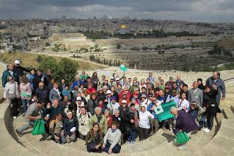 Photo: Sabata Ekskurso: panoramo de Jerusalemo de la Oliva Monto