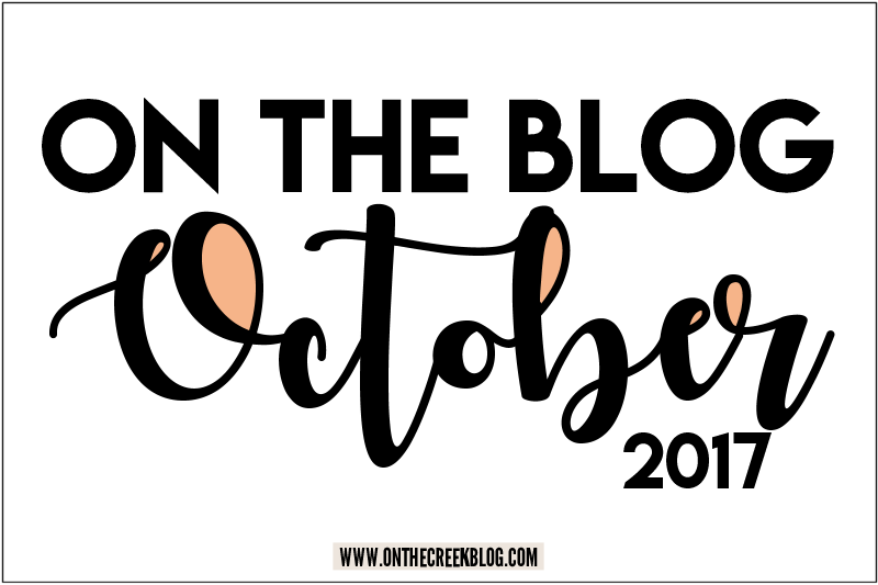 On The Blog | October 2017