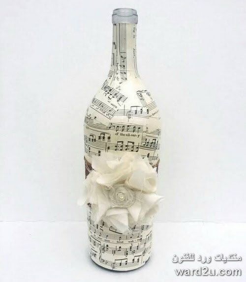 ديكوباج على انغام النوتة الموسيقية