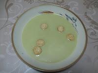 Velouté aux fèves