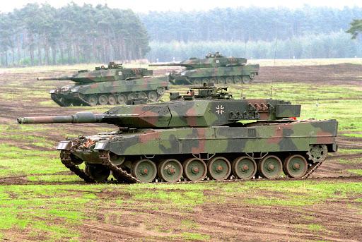MBT Leopard Angkatan Darat Jerman
