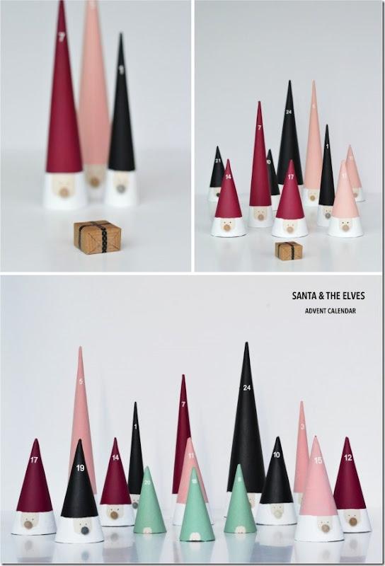 Calendario dell'Avvento: Gli elfi di Babbo Natale